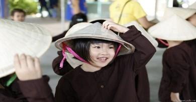 Quần áo bà ba trẻ em dịp Trung Thu về