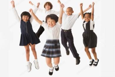 Những mẫu đồng phục bằng vải kẻ may đồng phục học sinh