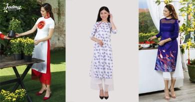 Những chất liệu vải thiết kế áo dài đang được ưa chuộng
