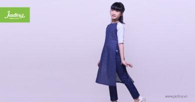 Áo dài cách tân cho bé gái thiết kế mới nhất