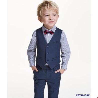 Áo gile cho bé trai 1 tuổi, phối áo ghi lê cho bé, vest Quận 2, bộ vest bé trai hà nội