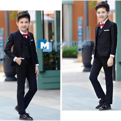 Đồ vest cho bé trai 6 tuổi, áo vest 8 tuổi, may áo gile, áo gile 3 tuổi