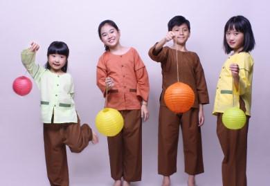 Xu hướng màu sắc của quần áo bà ba cho bé năm nay