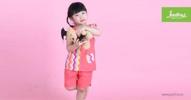 Đồ bộ mặc nhà thoáng mát và thời trang cho bé gái trong ngày hè