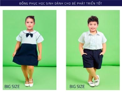 Các mẫu áo đồng phục học sinh tiểu học dễ thương nhất 2020