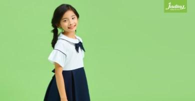 Các mẫu đầm đồng phục học sinh tiểu học hot nhất 2020