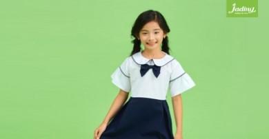 Đồng phục học sinh bé gái cotton đẹp và mát cho bé