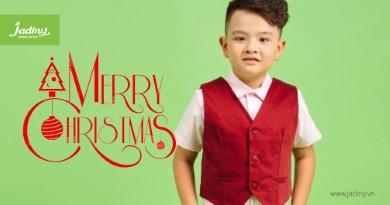 Thời trang mùa giáng sinh cao cấp cho bé trai