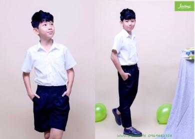 May đồng phục học sinh nam giá cực rẻ, chất lượng cực cao