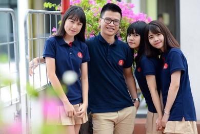 Đồng phục học sinh của trường Marie Curie ở Hà Nội và Tphcm