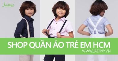 Danh sách trên 20 shop bán quần áo trẻ em đẹp nhất Tphcm