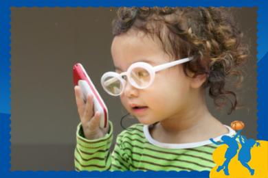 Bảo vệ mắt cho trẻ trong mùa dịch covid-19