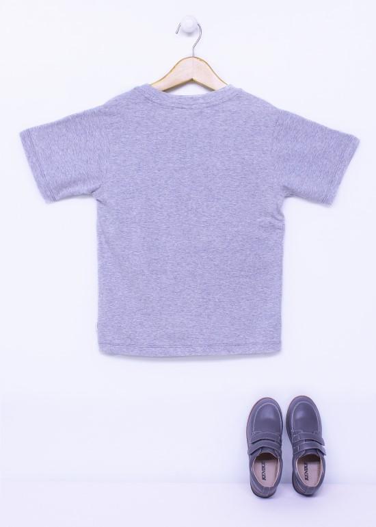 Áo thun bé trai t-shirt xám