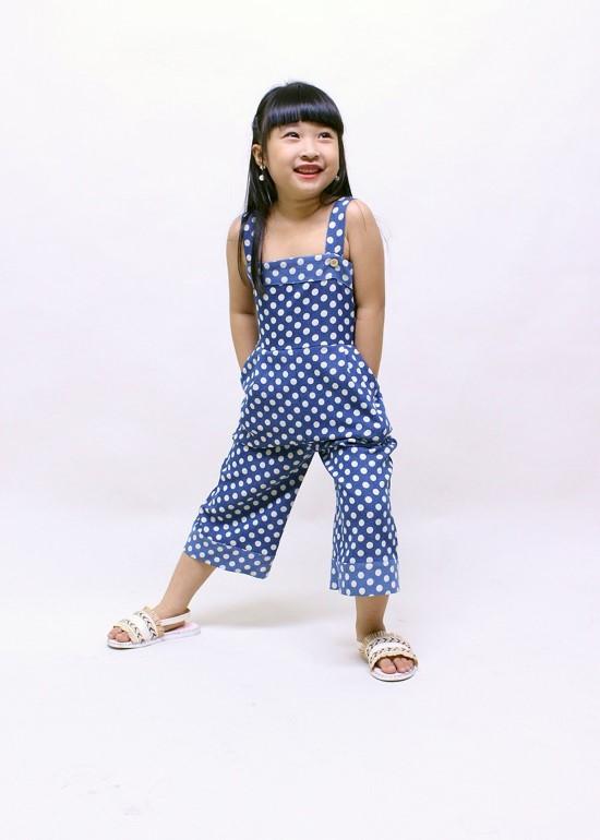 jumpsuit cho bé gái