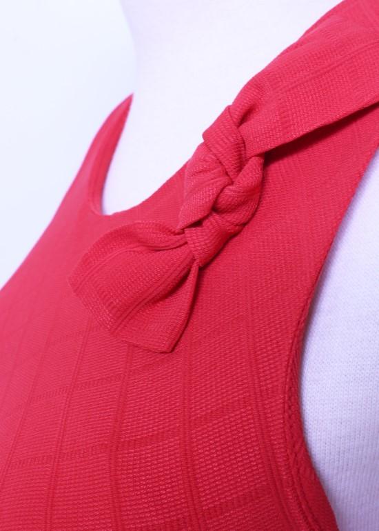 Đầm maxi mullet đỏ nữ