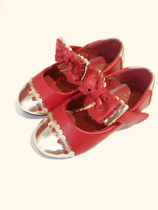 Giày bb bé gái quai hoa ken hs1086 127 t do