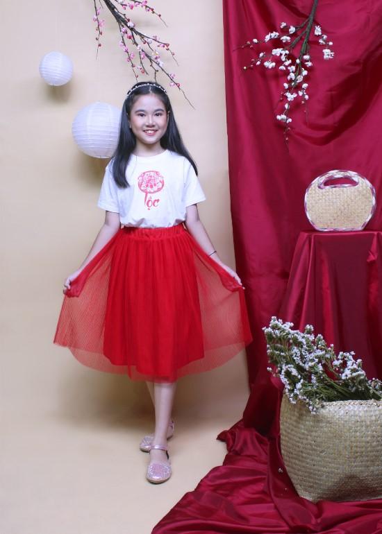 Chân váy cho bé gái
