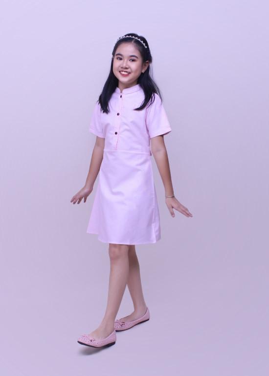 Đầm bé gái CLT hồng