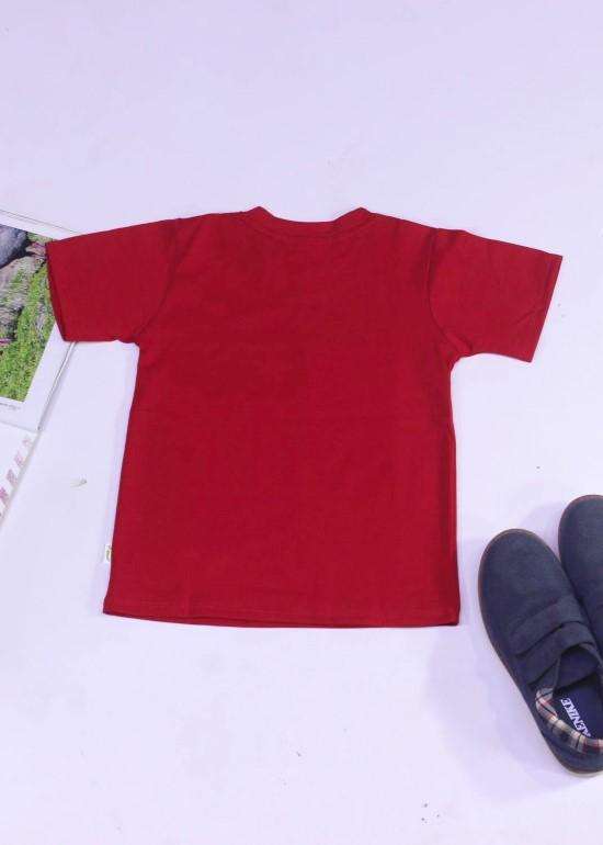 Áo thun cho bé màu đỏ