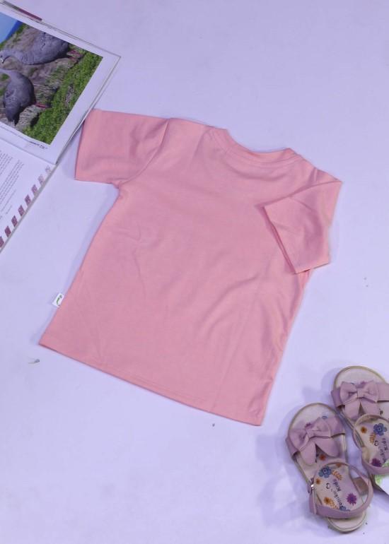 Áo thun cho bé màu hồng