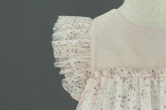 Đầm công chúa màu ruốc form A - MS243