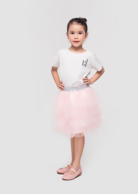 chân váy xòe cho bé gái