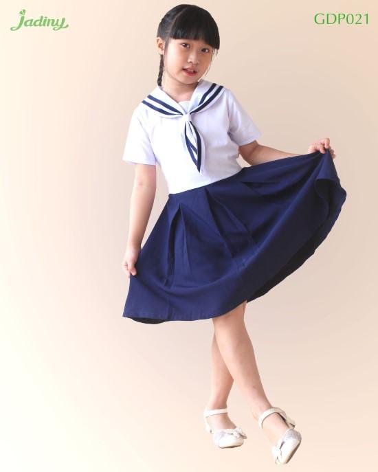 Đầm học sinh cổ hải quân 1 GDP021