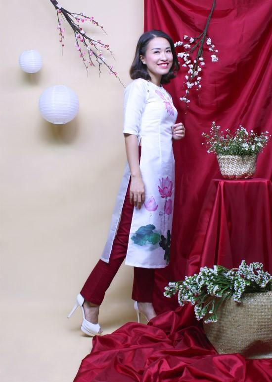 Quần dài nữ ống đứng đỏ