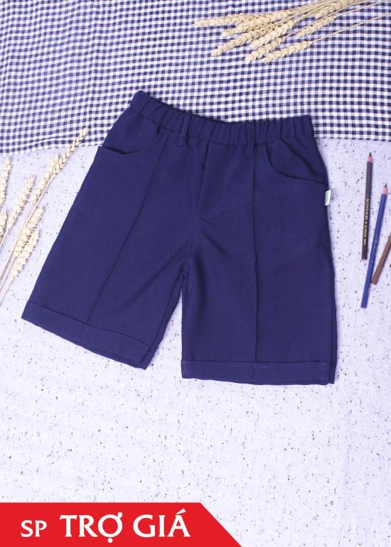 Quần ngắn lưng thun học sinh size phổ thông