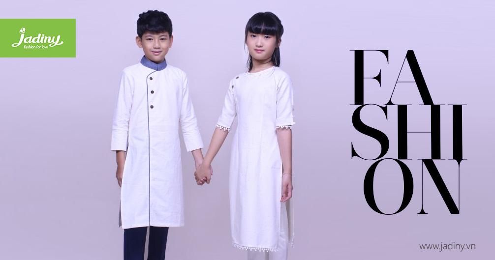 áo dài cách tân trẻ em nam