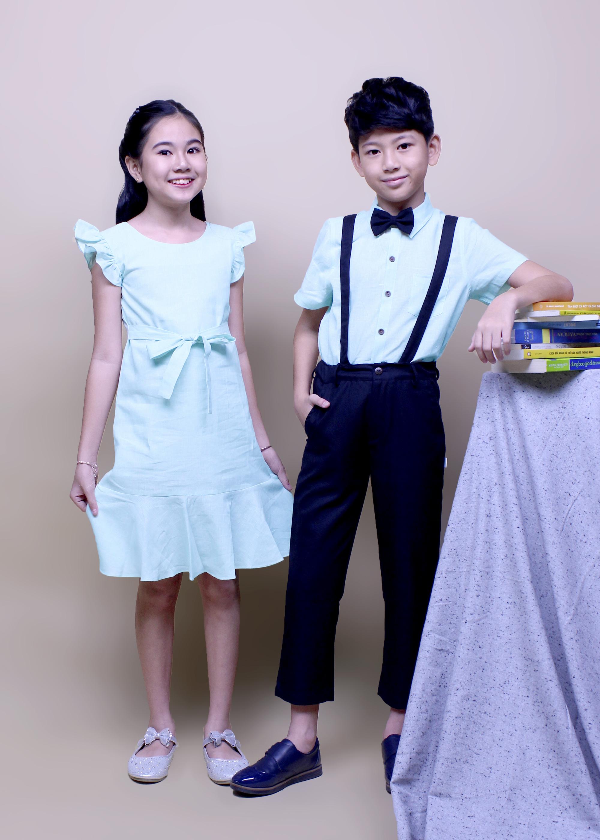 thời trang giấy cho bé trai