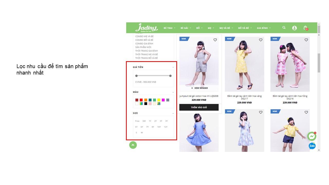 Hướng dẫn mua hàng online